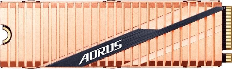 Быстрый накопитель Aorus NVMe Gen4 SSD: теперь и 500 Гбайт