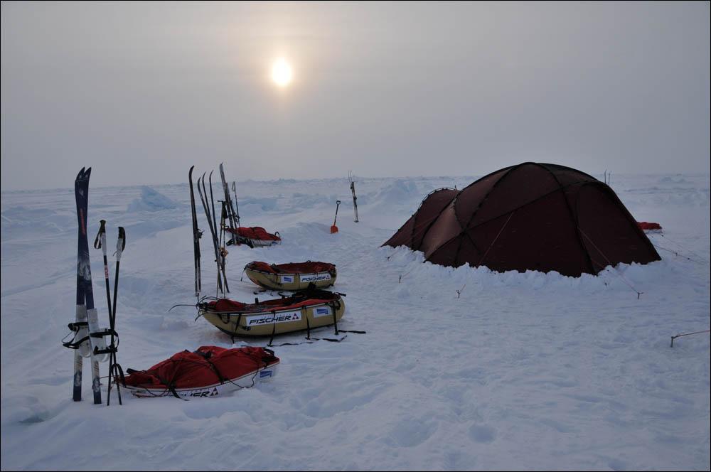 Как дойти до Северного полюса от дрейфующей базы Барнео - 10