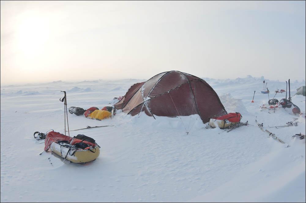Как дойти до Северного полюса от дрейфующей базы Барнео - 18