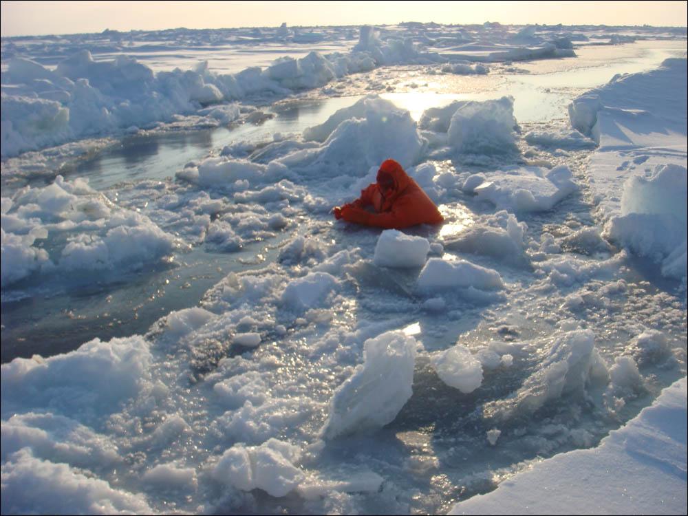 Как дойти до Северного полюса от дрейфующей базы Барнео - 19