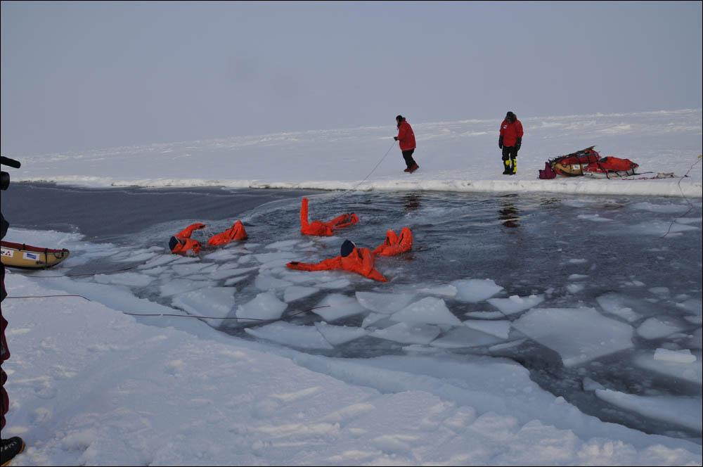 Как дойти до Северного полюса от дрейфующей базы Барнео - 20