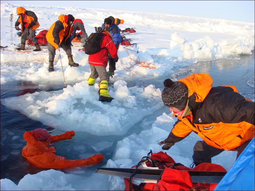 Как дойти до Северного полюса от дрейфующей базы Барнео - 21
