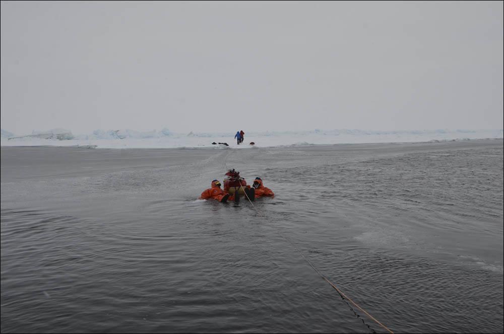 Как дойти до Северного полюса от дрейфующей базы Барнео - 22