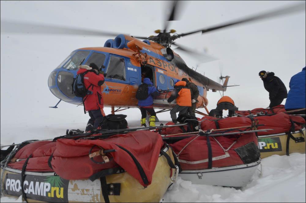Как дойти до Северного полюса от дрейфующей базы Барнео - 1