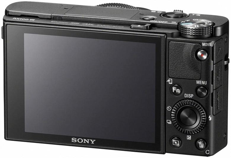 Представлена компактная камера Sony Cyber-shot DSC-RX100 VII