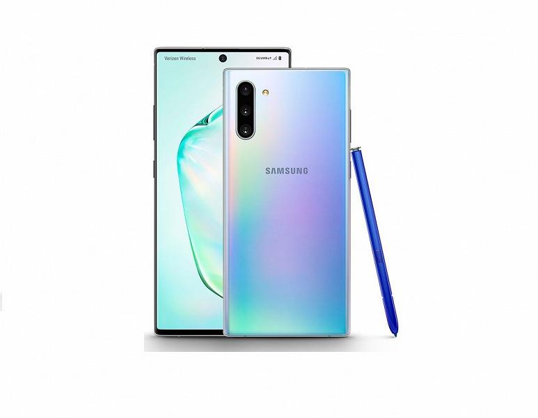 Samsung Galaxy Note10 получит систему Smart ISO