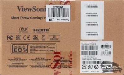 Новая статья: Обзор игрового Full HD-проектора ViewSonic PX706HD: расширяем кругозор