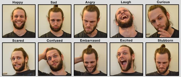 Распознавание эмоций с помощью сверточной нейронной сети - 1