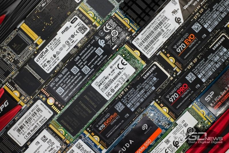 Новая статья: Какой SSD выбрать в 2019 году и почему: тест 21 накопителя объёмом 1 Тбайт с интерфейсом NVMe