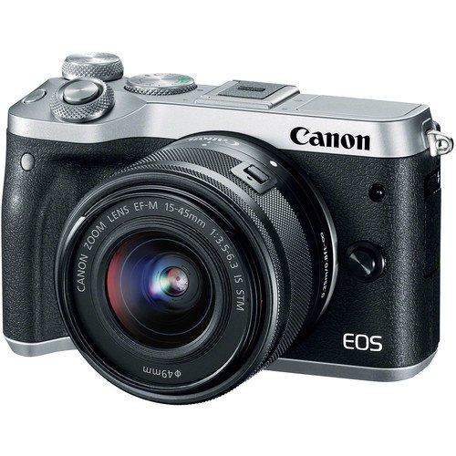 Опубликованы характеристики беззеркальной камеры Canon EOS M6 Mark II
