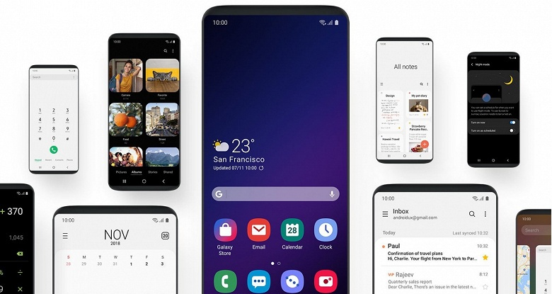 Samsung уже тестирует Android Q на смартфонах Galaxy S10