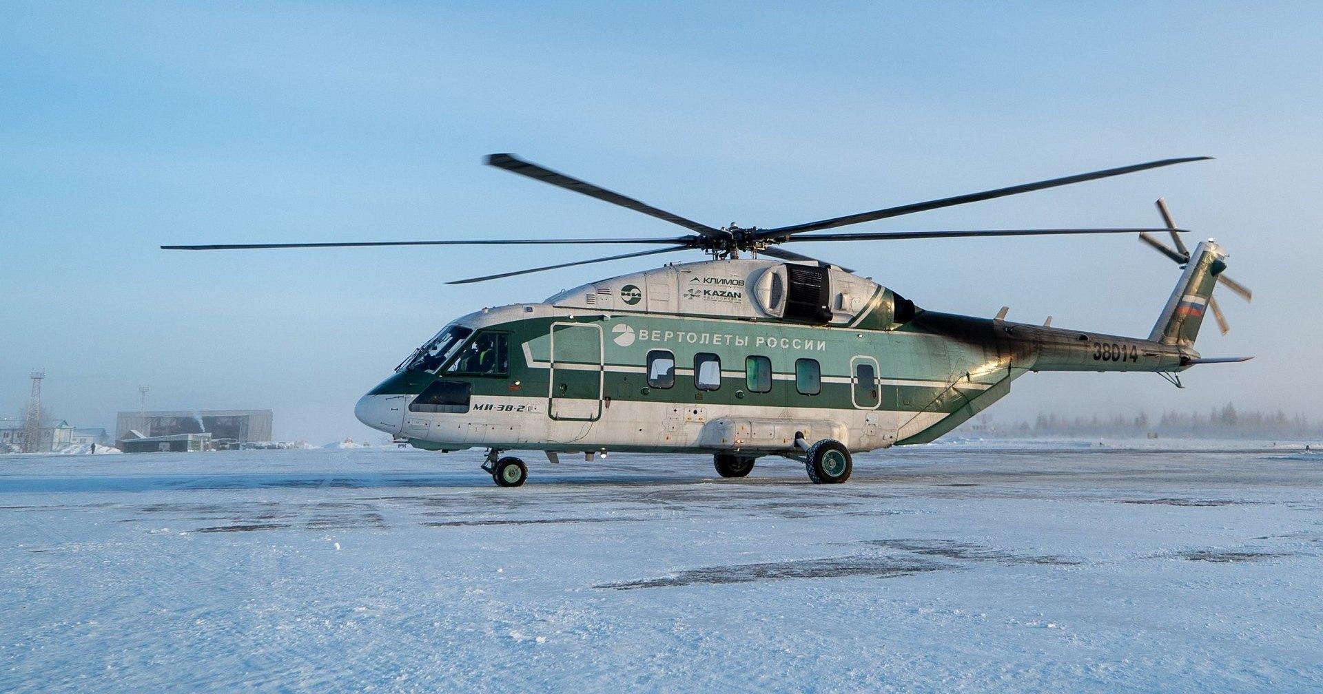 Двигатель Ми-38 испытали обледенением