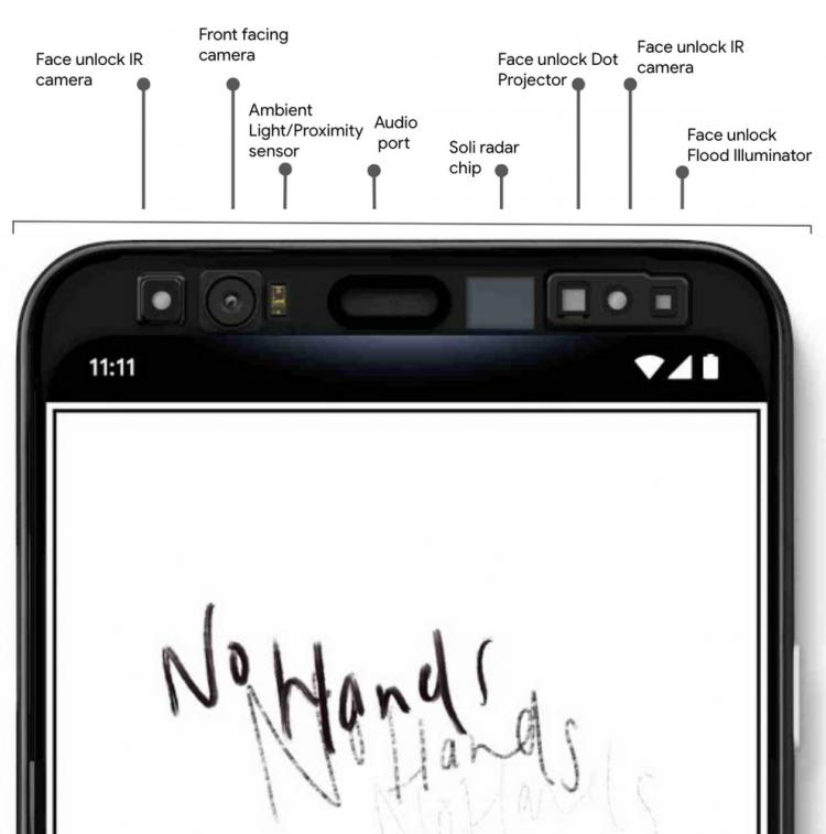 Google подтвердила две важные функции смартфона Pixel 4