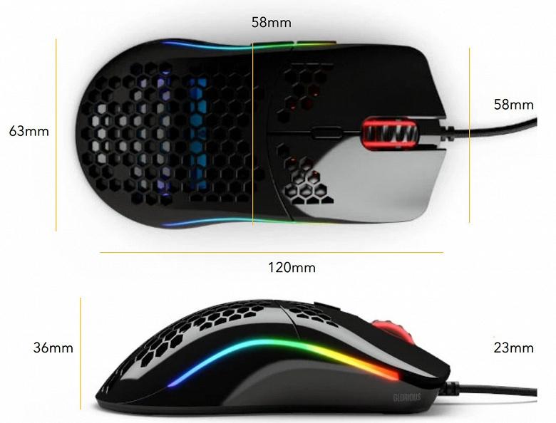 Начат прием предварительных заказов на мышь Glorious PC Gaming Race O-