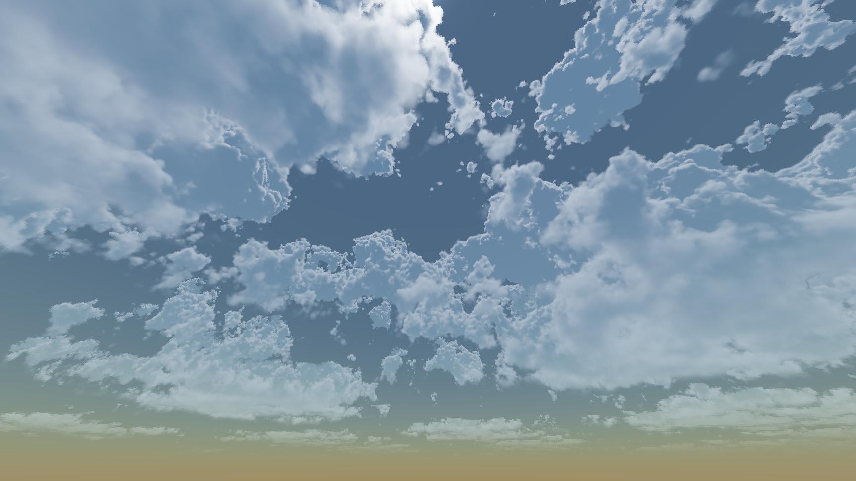 Реализация физически корректных объемных облаков как в игре Horizon Zero Dawn - 75