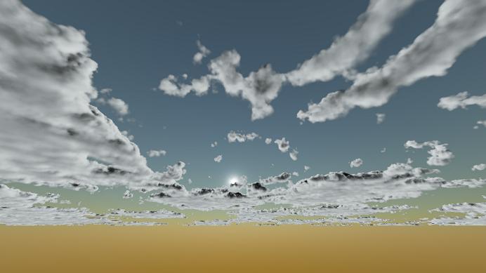 Реализация физически корректных объемных облаков как в игре Horizon Zero Dawn - 83