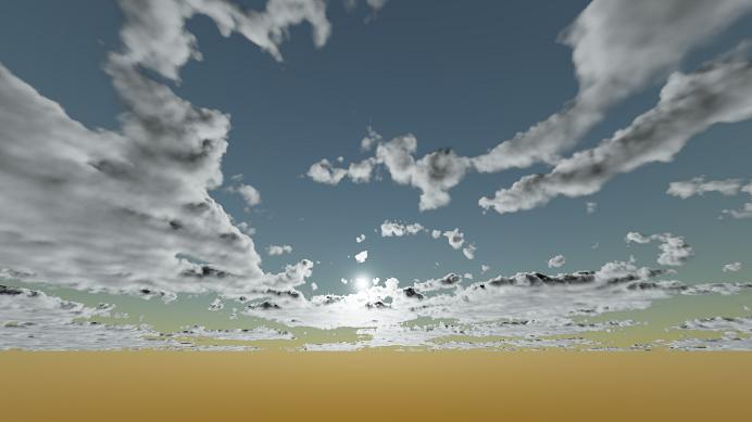 Реализация физически корректных объемных облаков как в игре Horizon Zero Dawn - 85