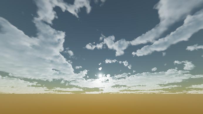 Реализация физически корректных объемных облаков как в игре Horizon Zero Dawn - 86