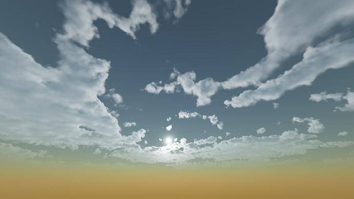 Реализация физически корректных объемных облаков как в игре Horizon Zero Dawn - 87
