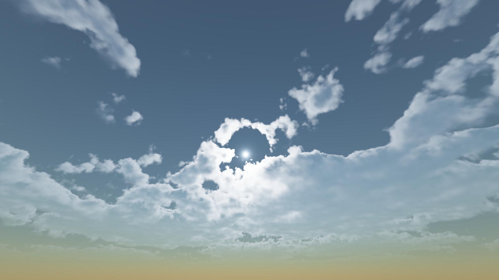 Реализация физически корректных объемных облаков как в игре Horizon Zero Dawn - 1