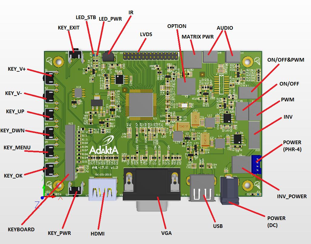 HDMI-LVDS. Разработка на TSUMV59 от MStar - 5