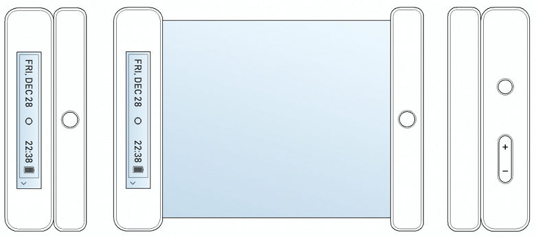 Roll, Bi-Roll, Dual Roll и еще несколько возможных названий гибкого смартфона LG