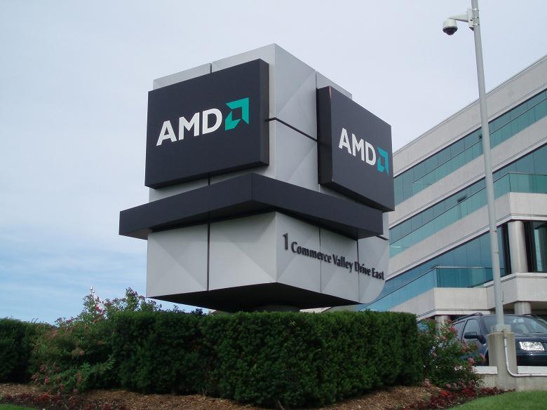 Доход AMD за квартал увеличился на 20%, но в годовом выражении уменьшился на 13% - 1