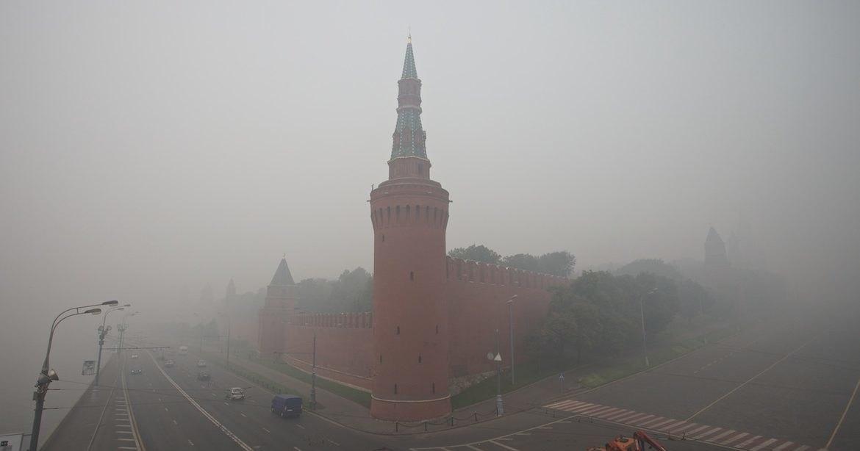 Гидрометцентр допустил задымление Москвы из-за сибирских пожаров