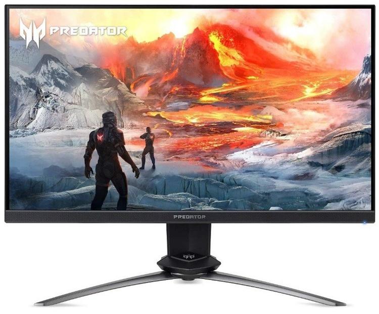 Монитор Acer Predator XN253Q X обладает частотой обновления 240 Гц