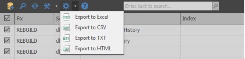 Обзор бесплатного инструмента SQLIndexManager - 11