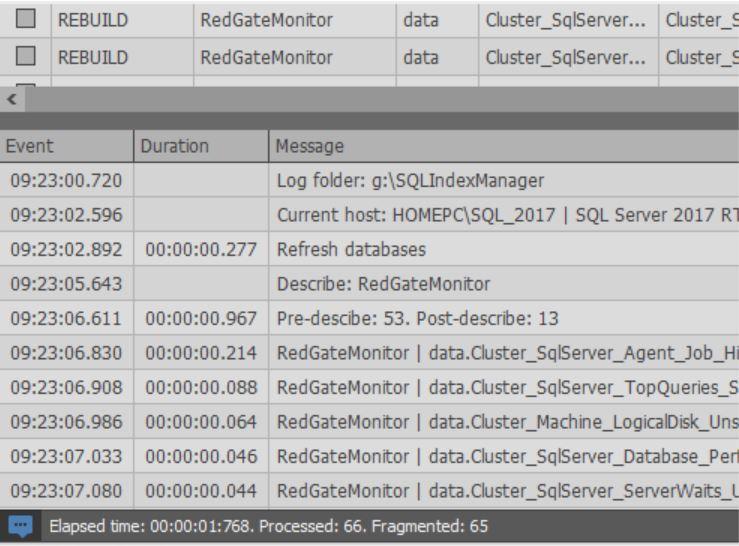 Обзор бесплатного инструмента SQLIndexManager - 15