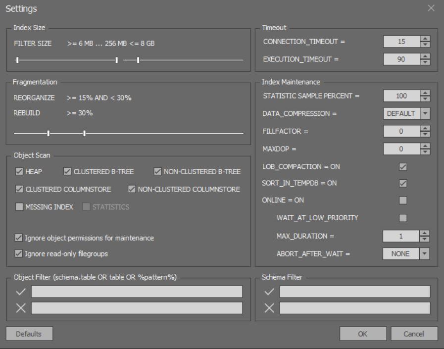 Обзор бесплатного инструмента SQLIndexManager - 16