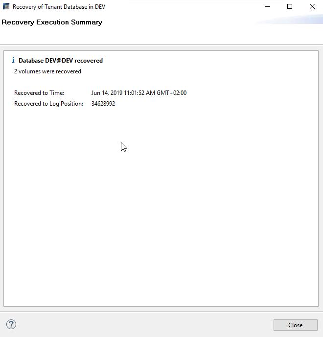 Плагин Veeam для бэкапа и восстановления баз данных SAP HANA - 15