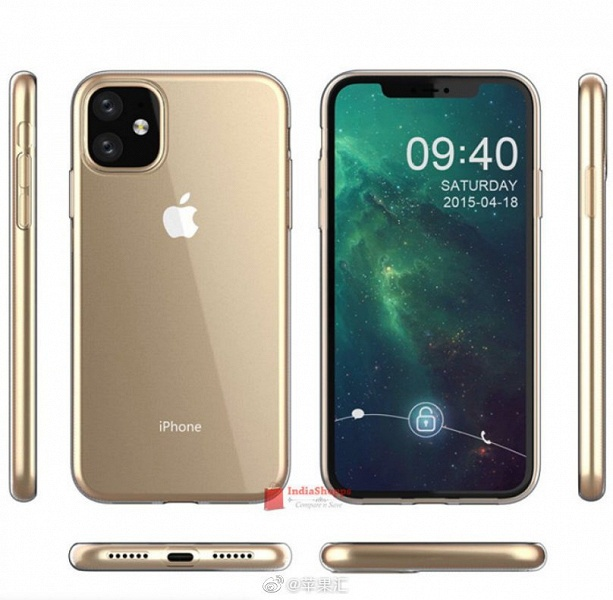 Смартфон Samsung Galaxy Note10+ засняли на iPhone XR 2019