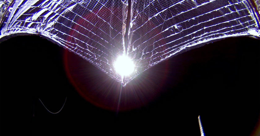 LightSail 2 увеличил высоту орбиты при помощи солнечного паруса