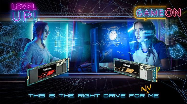 Toshiba Memory использует в SSD RD500 и RC500 96-слойную флеш-память TLC 3D NAND