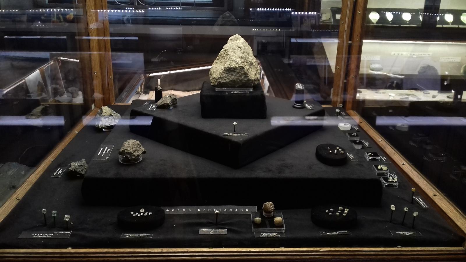 Фотоэкскурсия по Минералогическому музею имени Ферсмана - 9