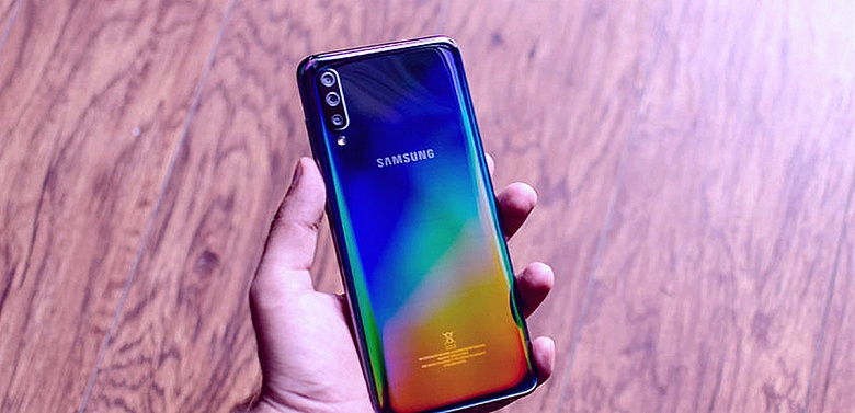 Камера Samsung Galaxy A70 получила ночной режим и сканер QR-кодов