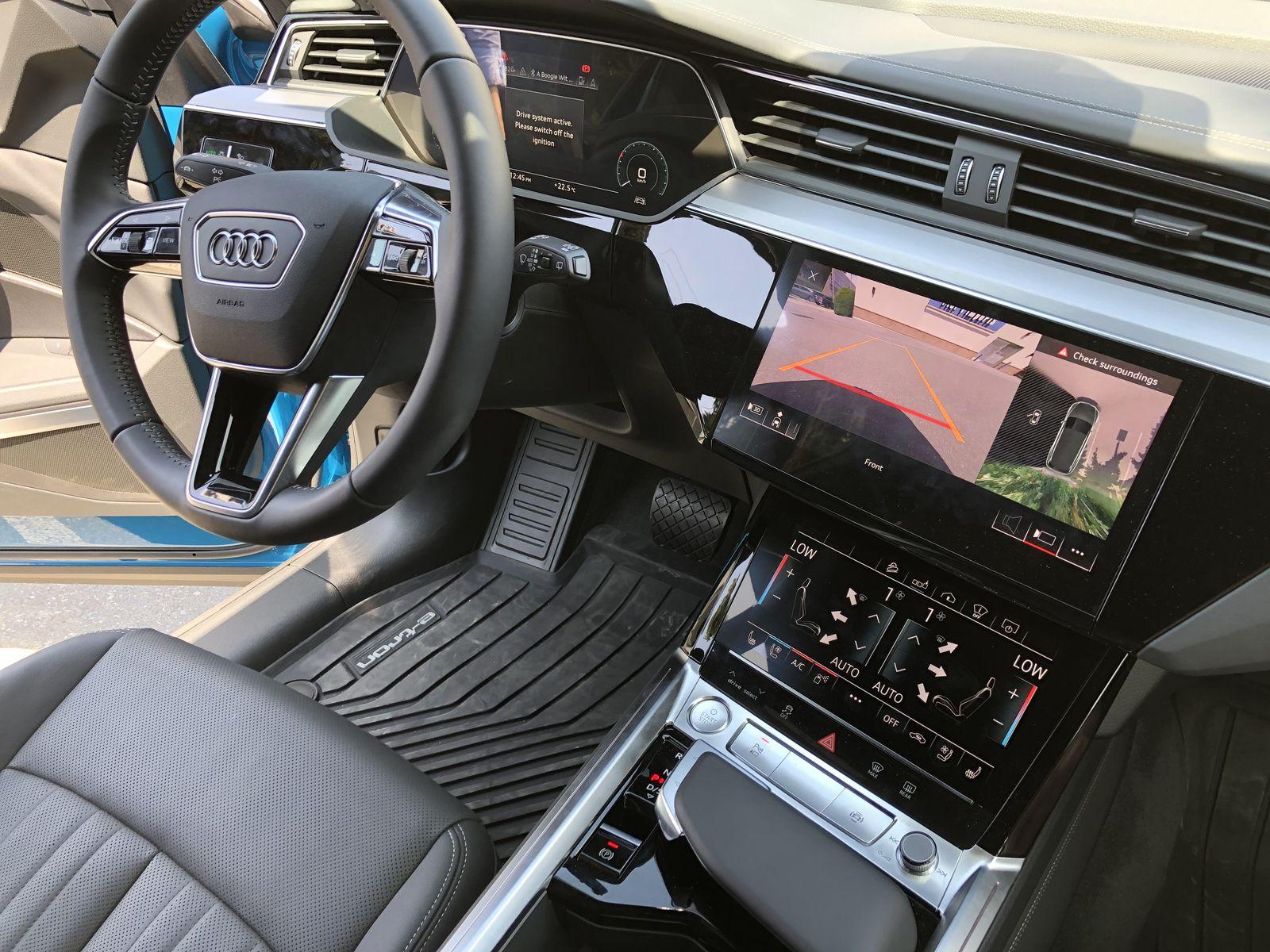 Тестдрайв Audi e-tron - 17