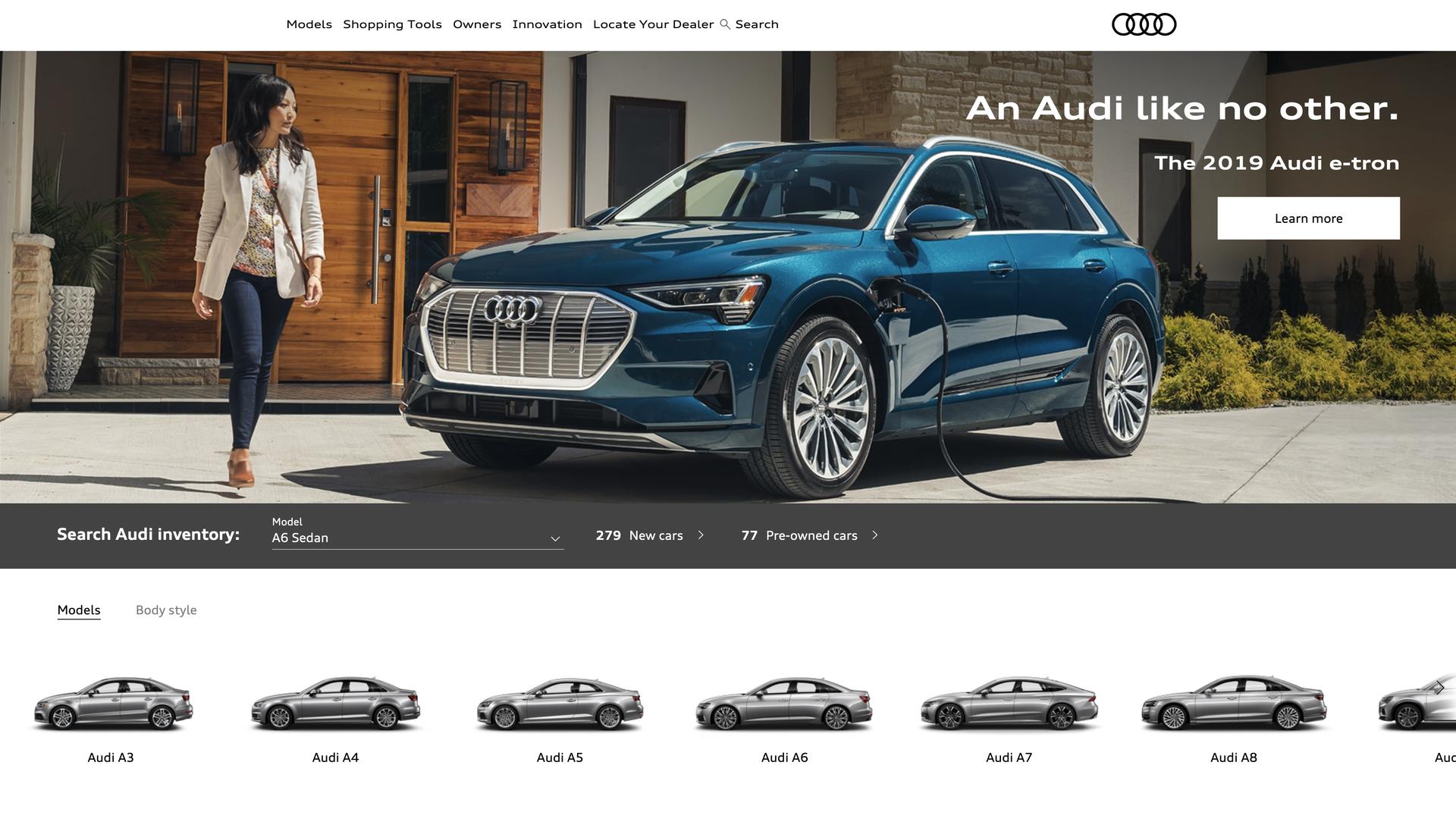 Тестдрайв Audi e-tron - 2