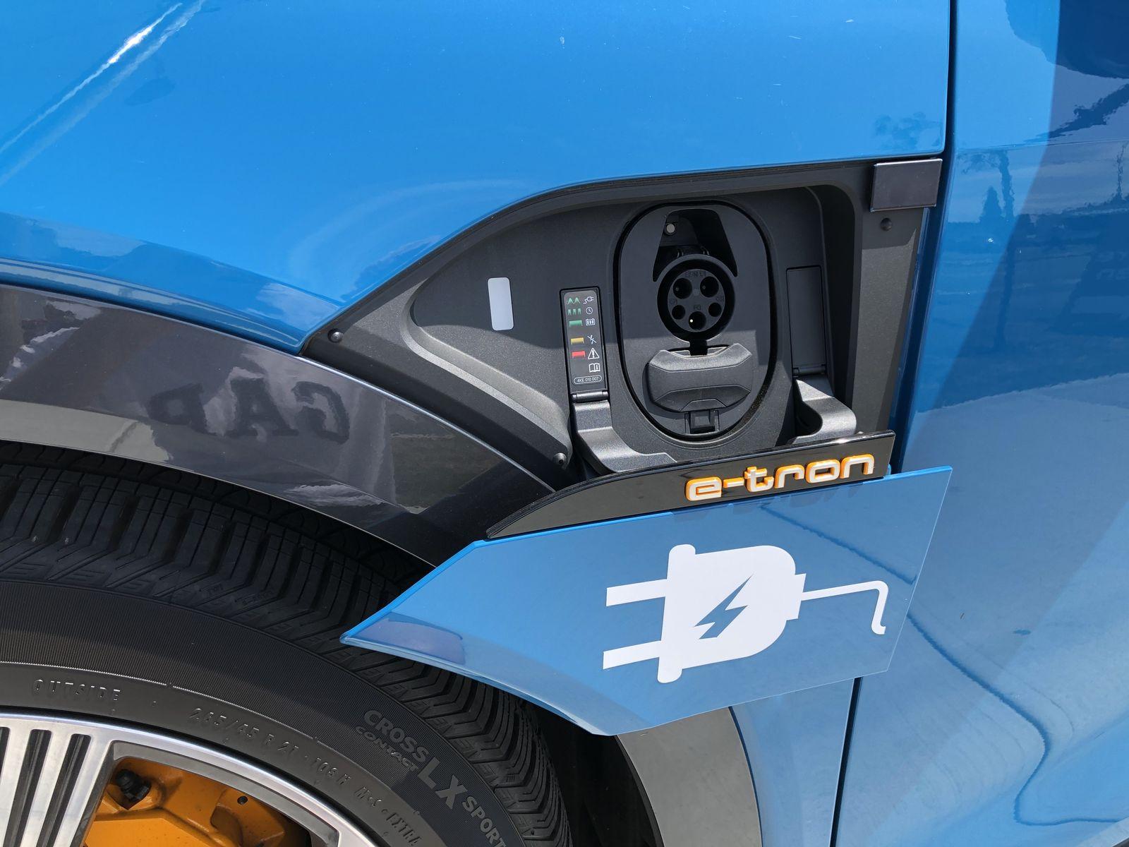Тестдрайв Audi e-tron - 21