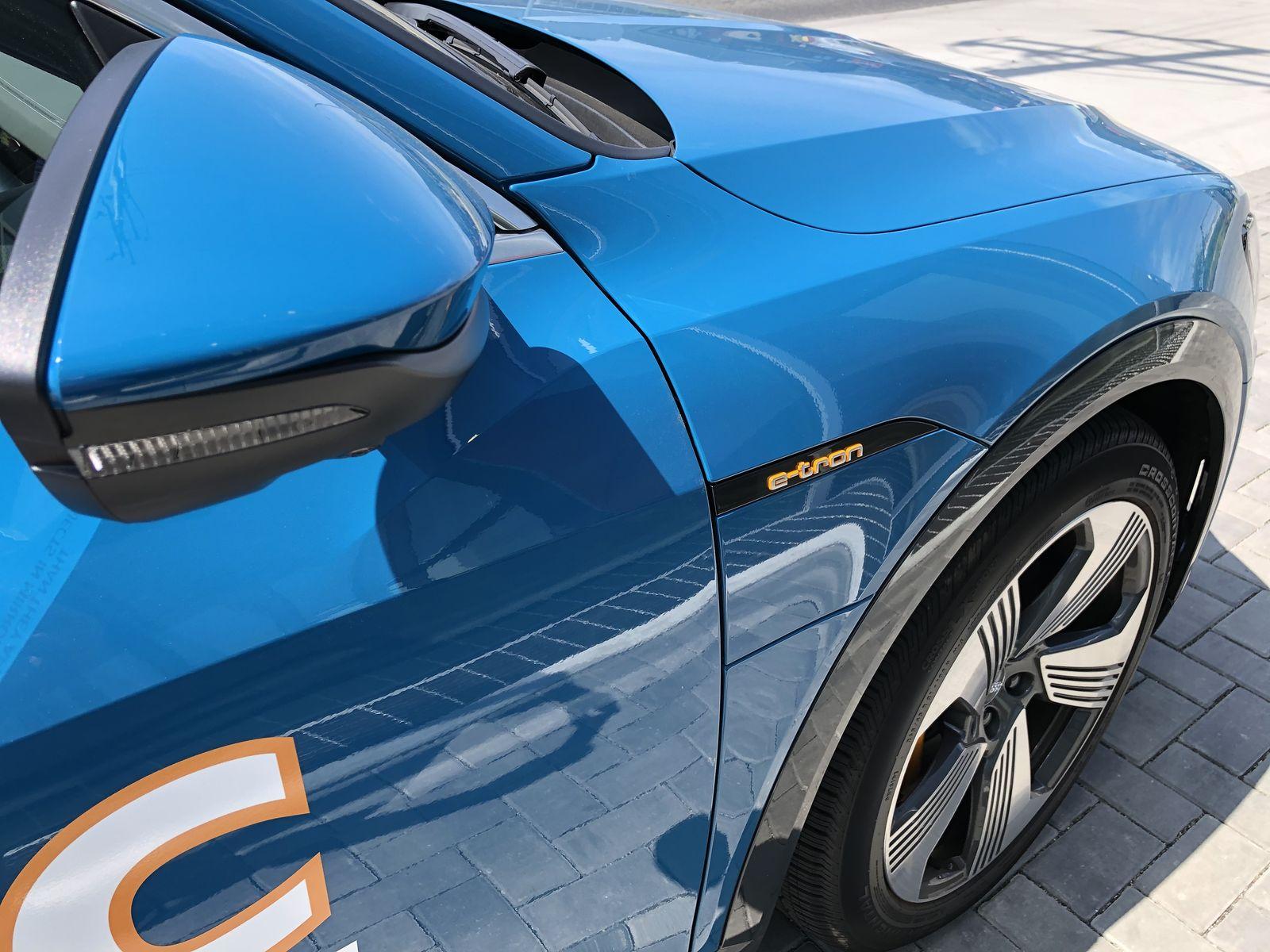 Тестдрайв Audi e-tron - 22