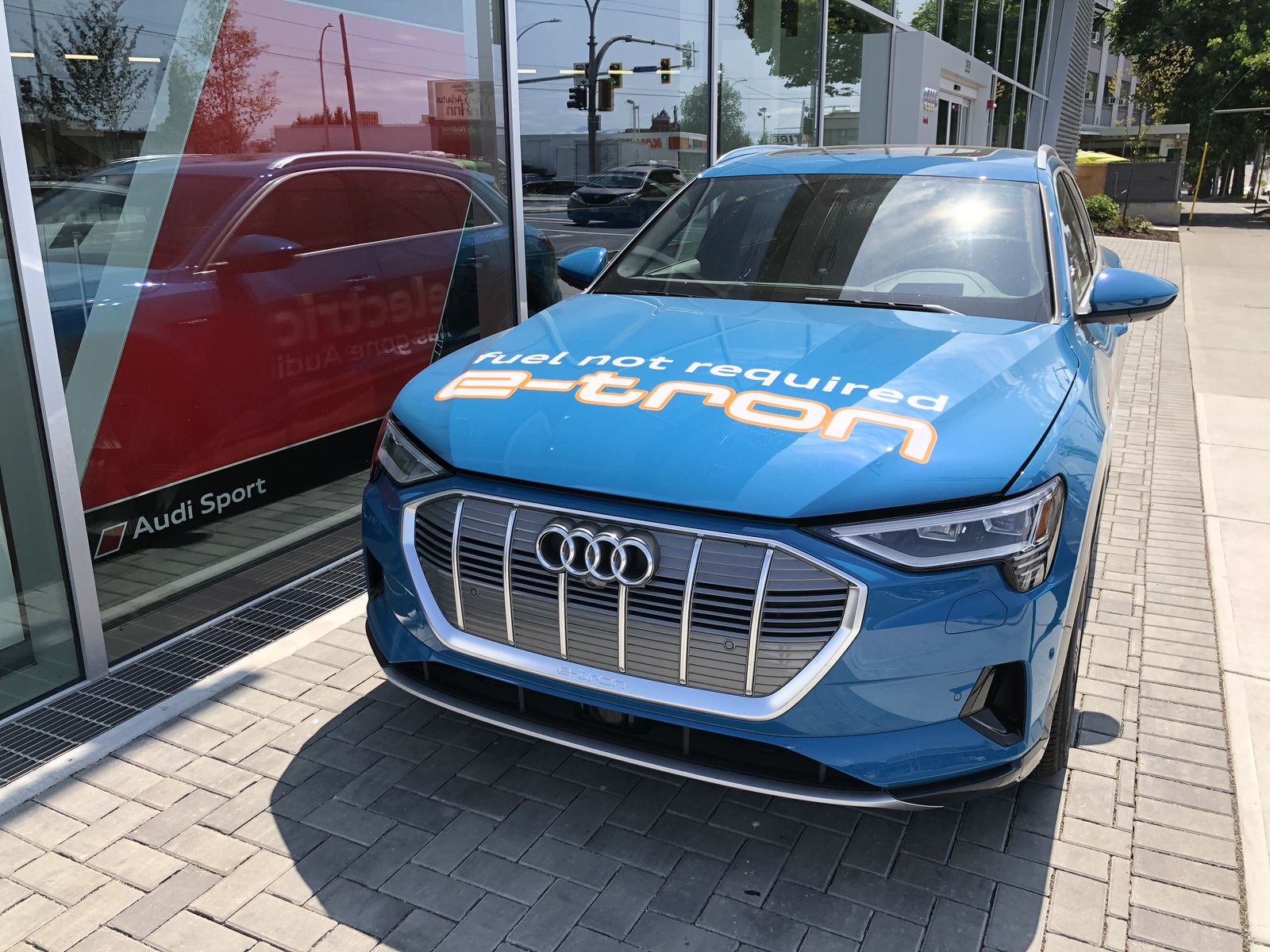 Тестдрайв Audi e-tron - 6