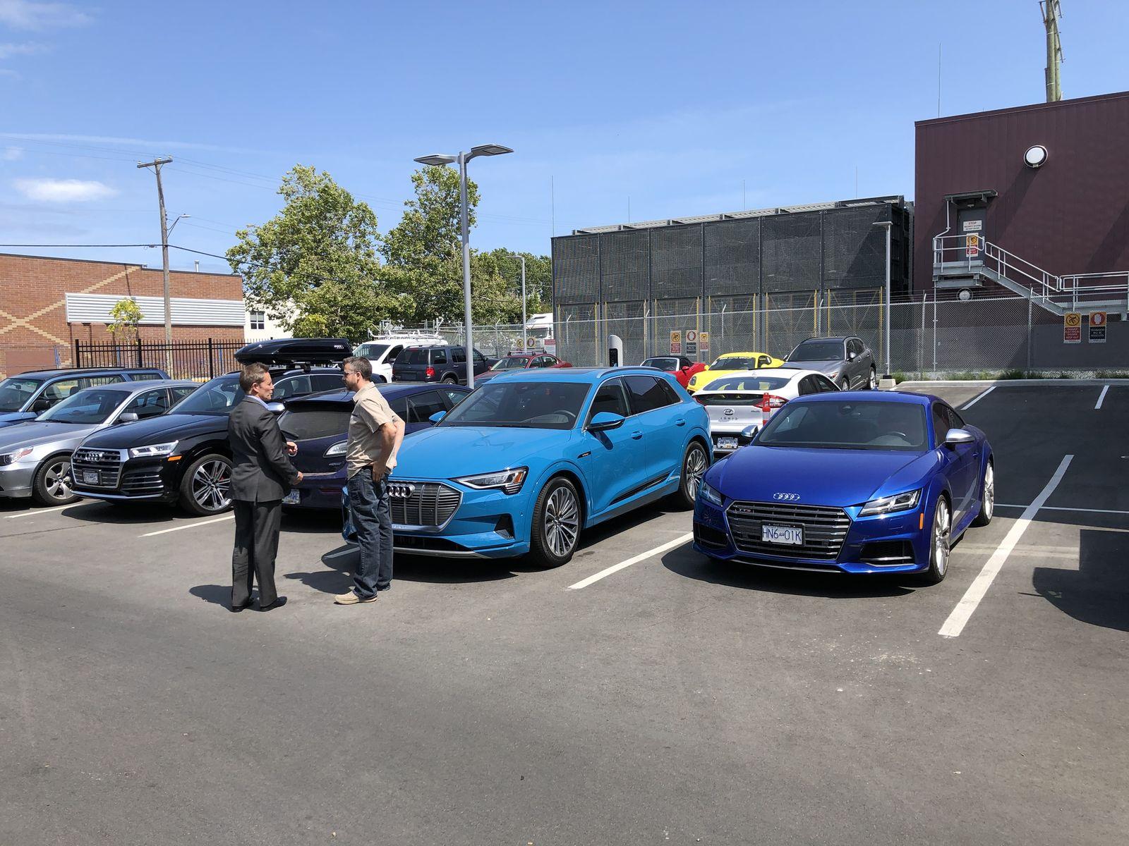 Тестдрайв Audi e-tron - 8