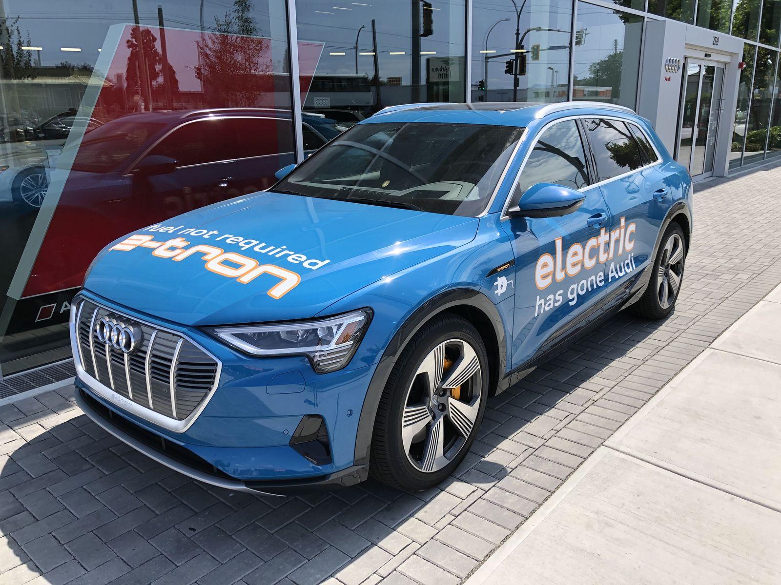 Тестдрайв Audi e-tron - 1