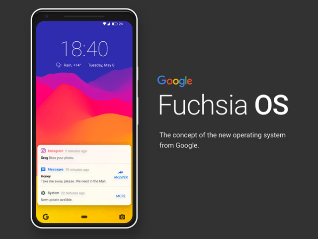Huawei все еще работает с Google над ОС Fuchsia
