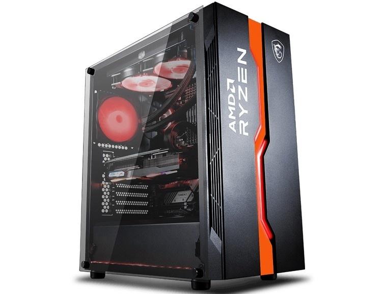 MSI посвятила корпус MAG Vampiric 011C процессорам AMD Ryzen