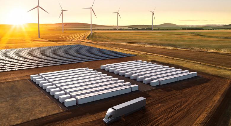 Tesla Megapack — новейшая батарея мощностью 1,5 МВт для создания огромных хранилищ энергии
