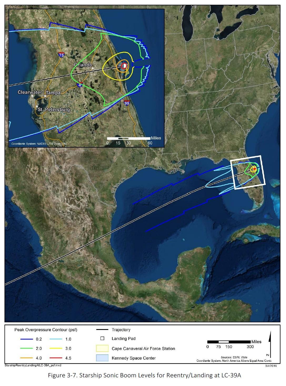 НАСА опубликовало предварительный отчёт экологической экспертизы о запуске SpaceX Starship с мыса Канаверал - 3