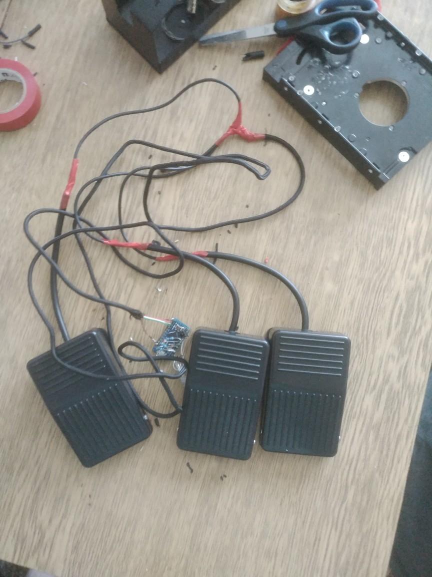 Педаль в пол: создаём очередной ножной манипулятор для ПК - 3